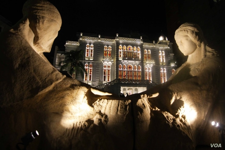 Beirut's Sursock Museum opened this month after an 8 year, nearly $14 -million renovation project (VOA photo - J. Owens).