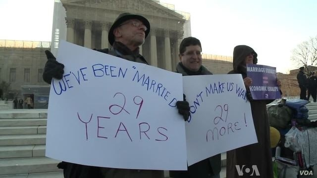 Gay Marriage Gets Second Supreme Court Airing
