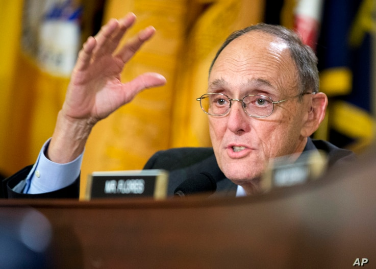 """FILE - Rep. Phil Roe, R-Tenn., pictured at a veterans affairs hearing in September 2014, said presumptive presidential nominee Donald Trump was engaging and made a good impression before a """"tough crowd"""" of Republican lawmakers."""