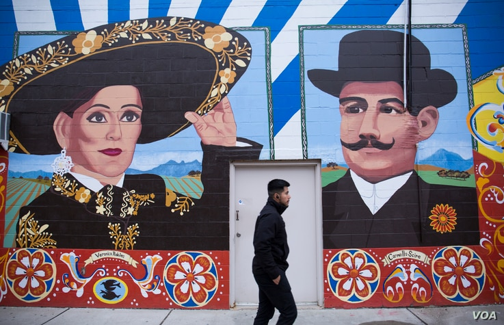 "An East Boston mural celebrates Mexican-born activist Veronica Robles and Sicilian entrepreneur Carmello Scire, both immigrants to Boston. The artwork is part of the City of Boston's ""To Immigrants With Love"" project, which celebrates Boston's immi..."