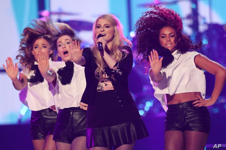 Meghan Trainor performs at the iHeartRadio Music Festival on Sept. 20, 2014, in Las Vegas.
