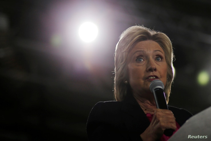 U.S. Democratic presidential nominee Hillary Clinton speaks at a campaign Voter Registration Rally at the University of South Florida in Tampa, Florida, Sept. 6, 2016.