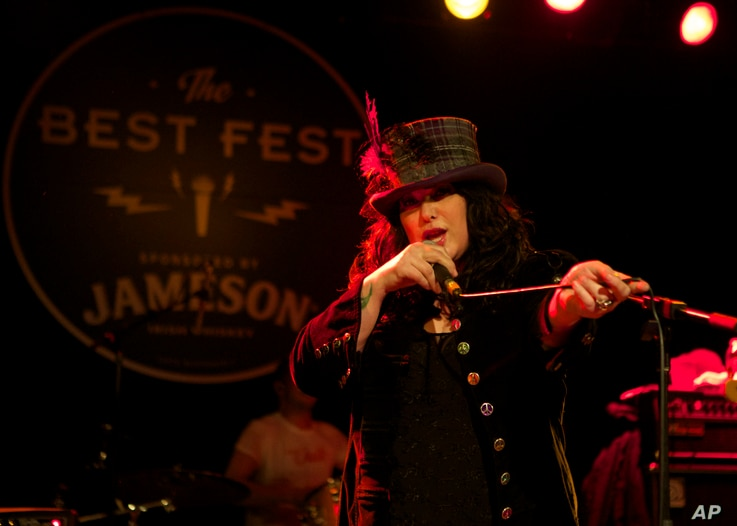 FILE - Jameson Irish Whiskey celebrates Petty Fest with legendary local artist Ann Wilson of Heart at the Showbox, April 9, 2014, in Seattle.