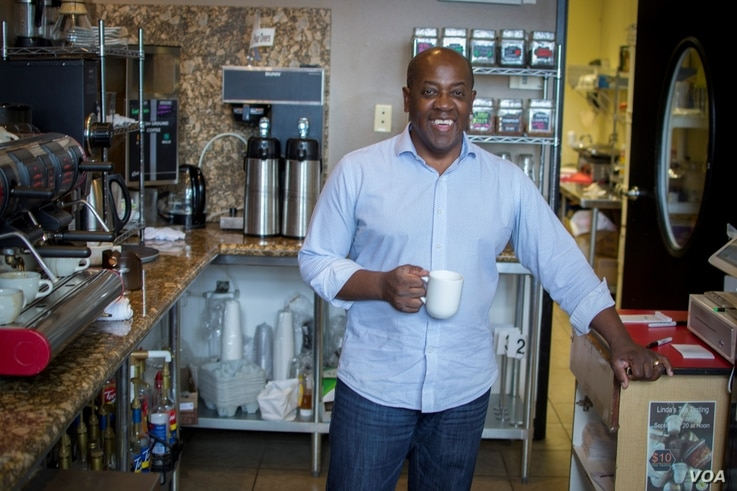 Sherman Avery, a registered Republican and Las Vegas-area coffee shop owner, says conservative principled ideas are key to winning future elections.