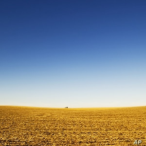 There still is lots of empty space, such as this Nebraska prairie on the American Great Plains.
