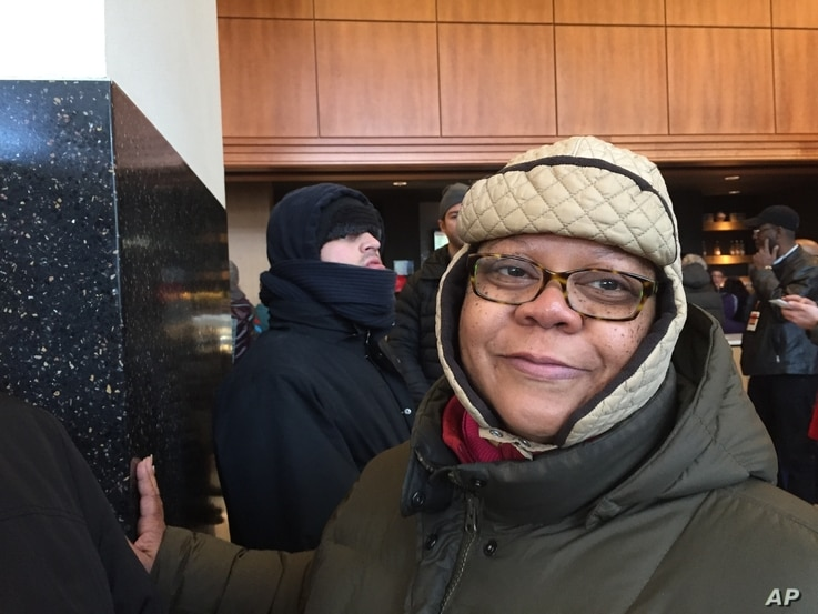 Cheryl Bellamy-Bonner, 56, of Chicago, carpooled with four female friends and relatives beginning at 3 a.m. Saturday to get a ticket to President Obama's farewell speech at McCormick Place. She has been an Obama supporter since volunteering on Obama'...