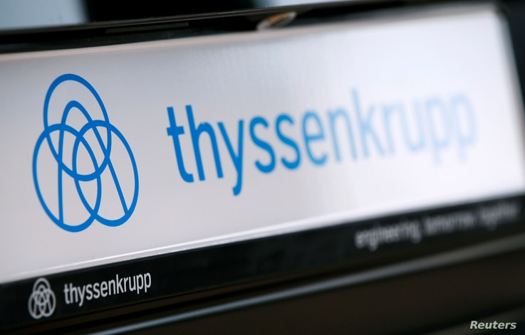 German company ThyssenKrupp disclosed that hackers had stolen technical trade secrets earlier this year.