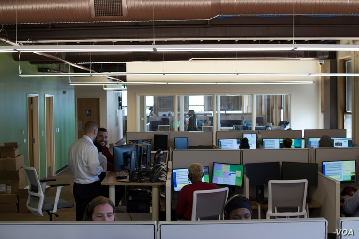 In January, the Defiance, Ohio-headquartered Credit Adjustments, Inc. opened a new call center in downtown Toledo, creating 60 jobs, with the goal of adding hundreds more in the next three years.