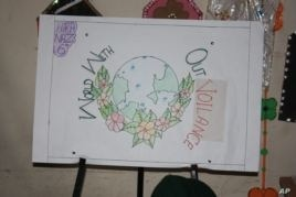 A project created by Shama and her classmates