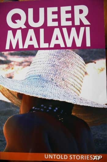 The cover of a recently published book telling the stories of homosexuals in Malawi.  Activists say as African homosexuals have become more visible, so attacks on them have increased