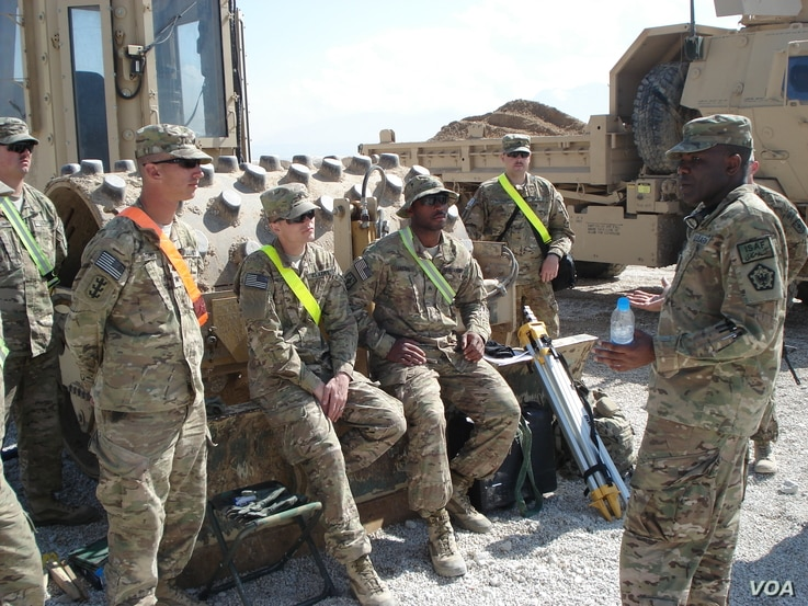 """Dawud Agbere, a fluent Arabic speaker and oftentimes the only Muslim in his unit, says he works to """"bridge the gap"""" between cultures. (Photo courtesy of US Army)"""