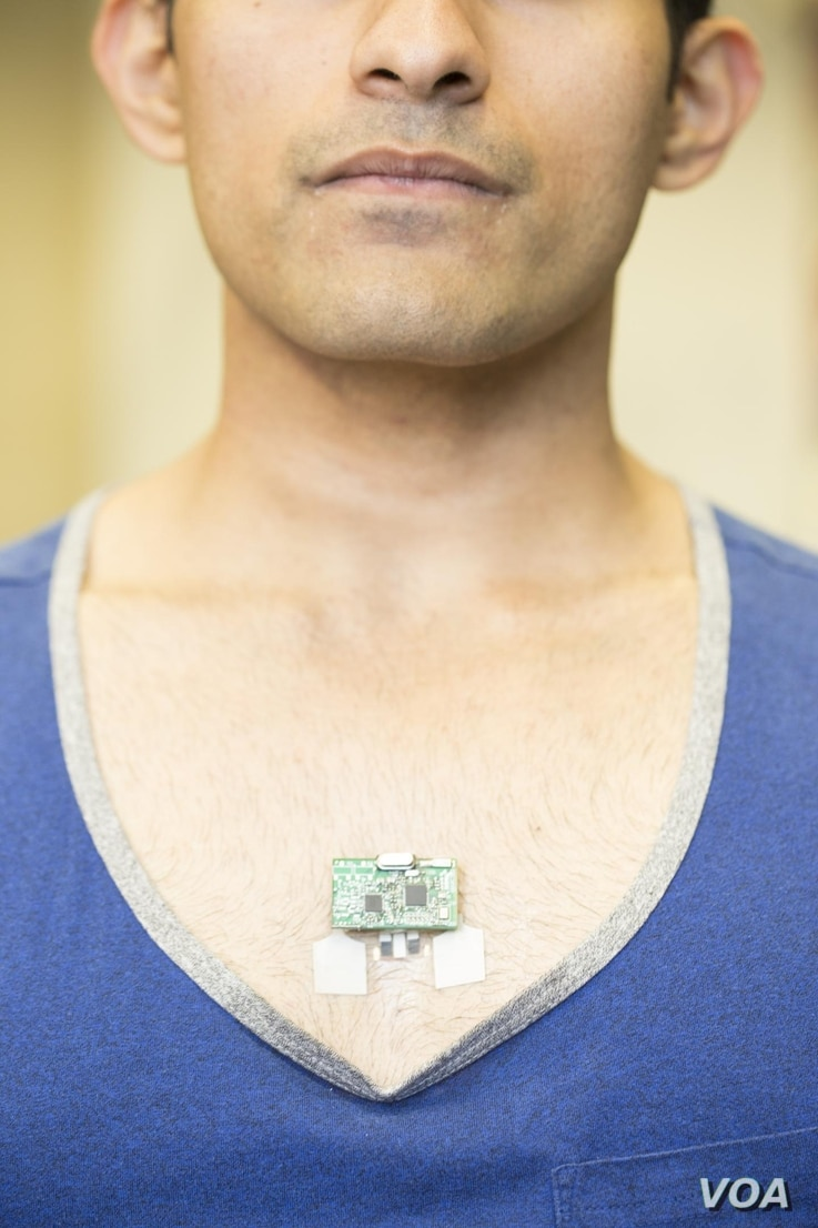 Wearable Tech Monitors More than Just Steps.  Credit: Jacobs School of Engineering/UC San Diego