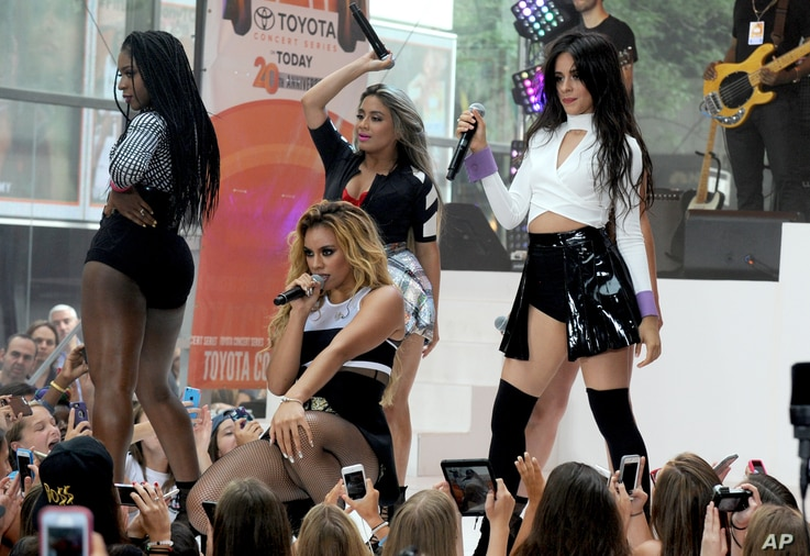 Fifth Harmony is seen on NBC Today - 7/10/15