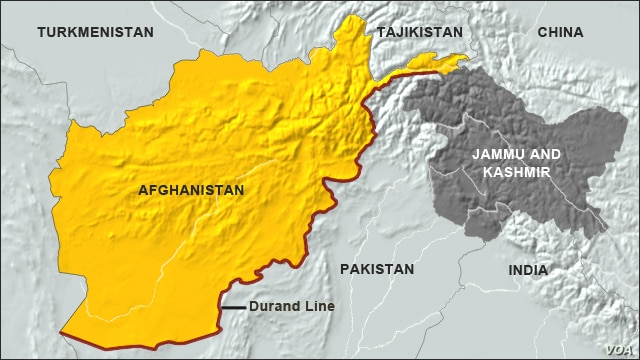 Durand Line of Afghanistan