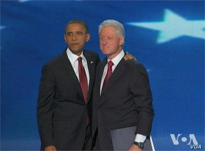 Former President Clinton Officially Nominates Barack Obama