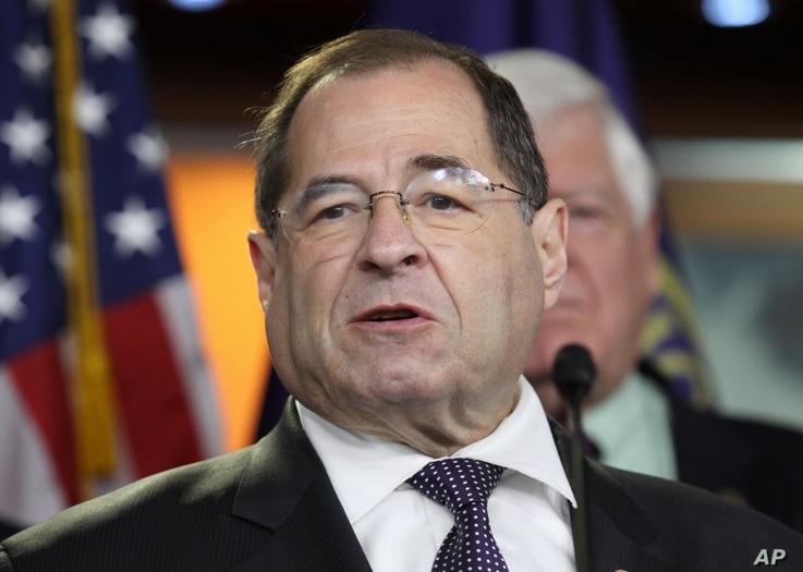 Rep. Jerry Nadler, D-N.Y., announces he is backing President Barack Obama's Iran nuclear deal during a news conference in Washington, June 16, 2015.
