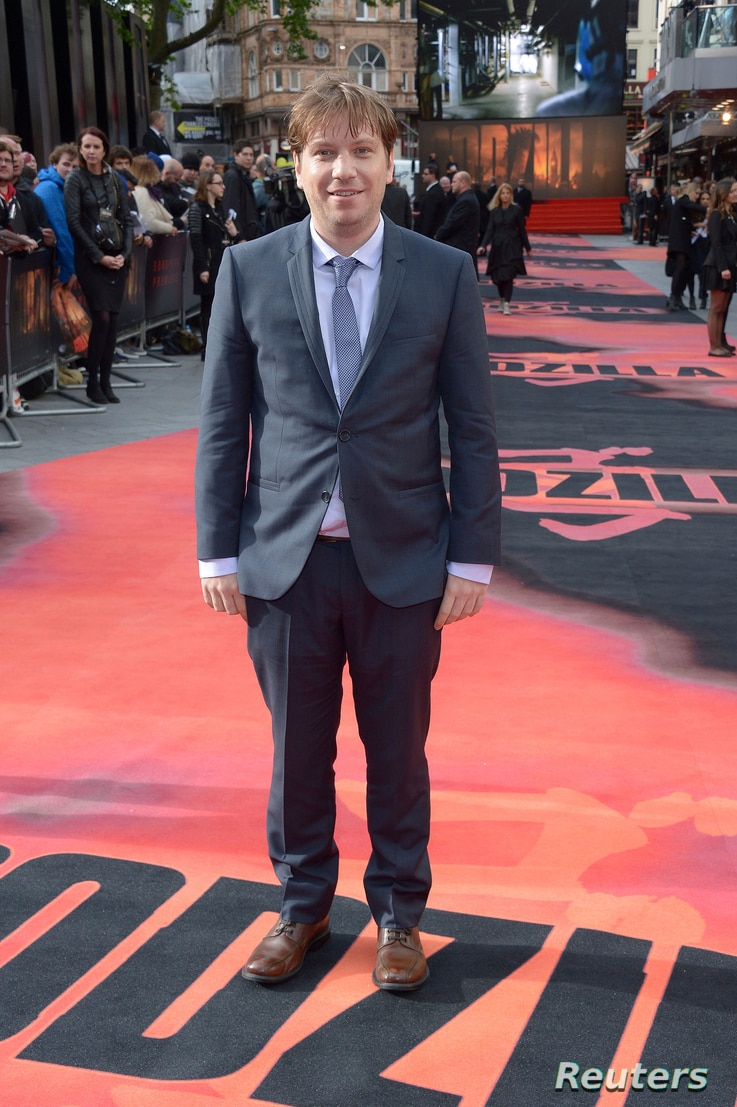 """Director Gareth Edwards attends the premiere of Godzilla in London, May 11, 2014. """"Rogue One: A Star Wars Story."""" opens  Dec. 16, 2016."""