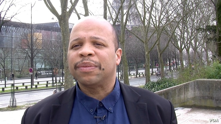 Louis-Georges Tin, head of CRAN umbrella group of French black associations, says besides justice, repatriating African art makes economic sense as it can draw tourism.