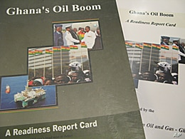 A report gave a grade of C to all involved in Ghana's oil quest