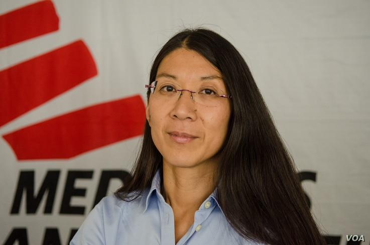 Dr. Joanne Liu, international president of Doctors Without Borders/Medicins Sans Frontieres (Photo courtesy of MSF)