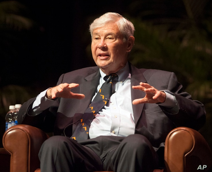 FILE - Bob Graham speaks in Gainesville, Fla., Oct. 12, 2012. The Obama administration will likely soon release at least part of a 28-page secret chapter from a congressional inquiry into 9/11 that may shed light on possible Saudi connections to the ...