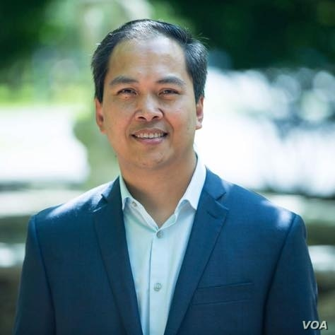 Sokhary Chau, 44, is running as a unifer for the city council elections, in Lowell, MA. (Courtesy Photo)
