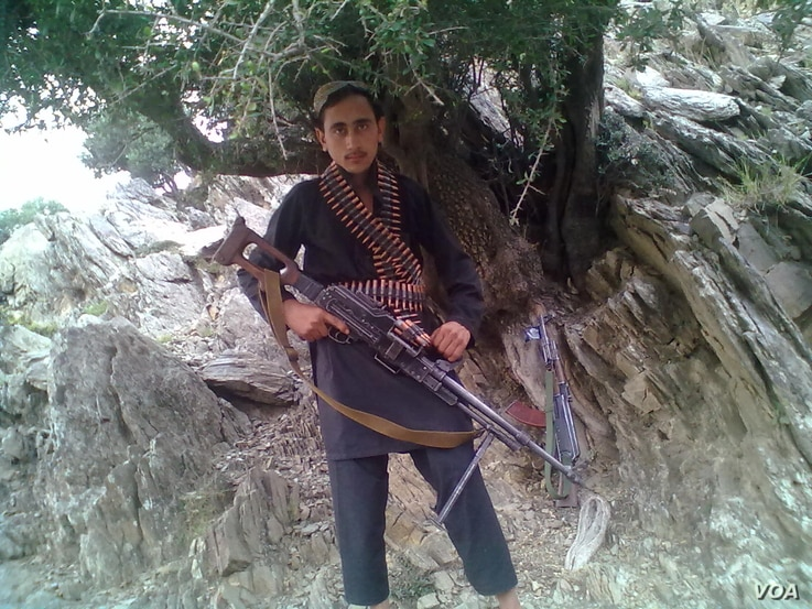 Bakht e Ali, the older of the two brothers, who was a child soldier for IS.