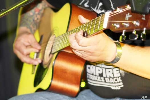 For Engelbrecht, the acoustic guitar is a much more expressive instrument than its electric counterpart