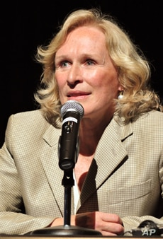 """Actress Glenn Close hopes """"Pax"""" will change the public's image of mental illness, including PTSD."""