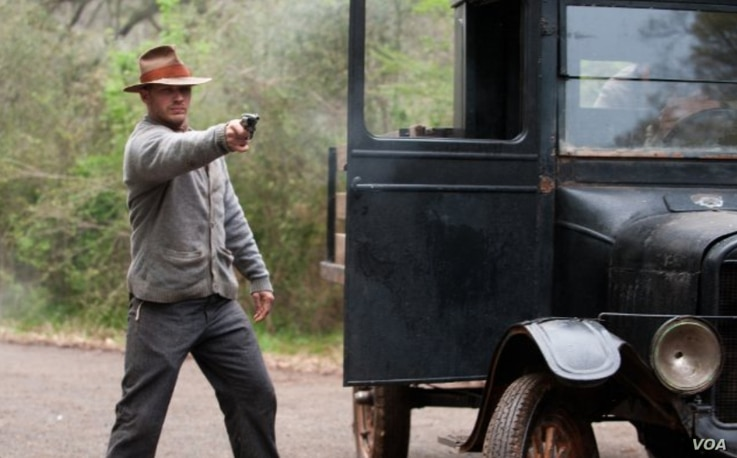 Still of Tom Hardy in Lawless ( © 2011 The Weinstein Company)