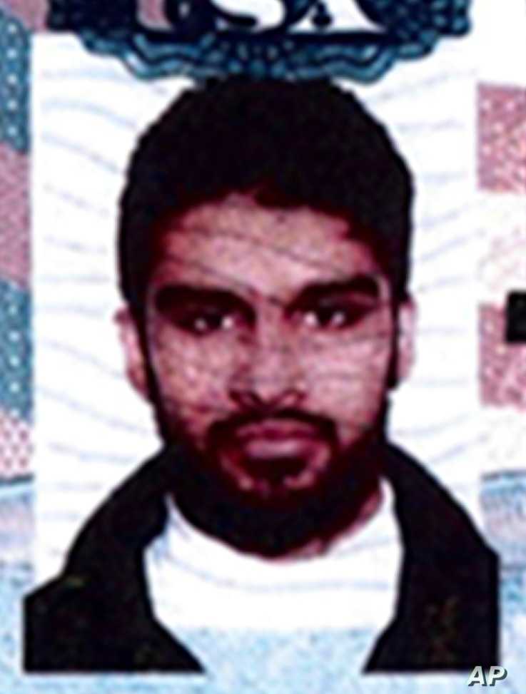 FILE - This undated passport photo provided by the U.S. Attorney's Office in Chicago shows Mohammed Hamzah Khan.