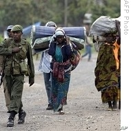 Rebel insurgencies displaced scores of Congolese