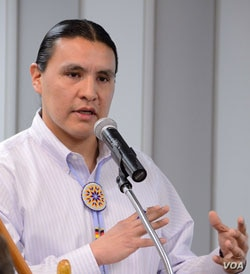 Chase Iron Eyes, attorney and rights activist (Courtesy/Lakota Peoples Law Project)