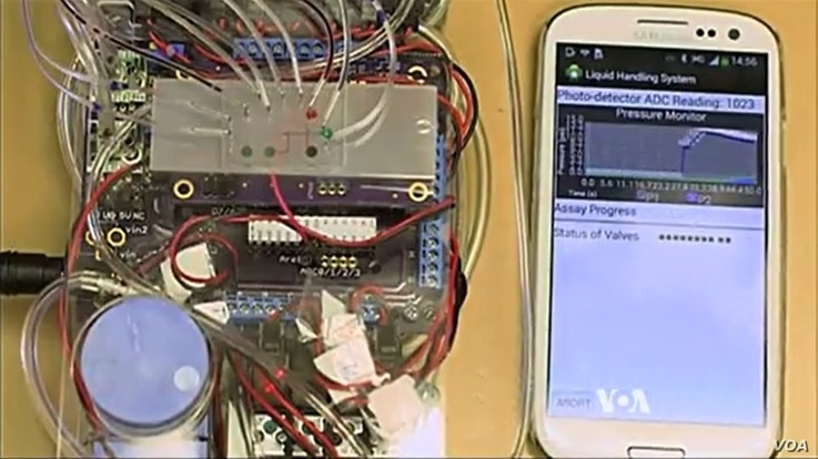 Tricorder can diagnose some diseases by testing blood, urine and saliva samples.