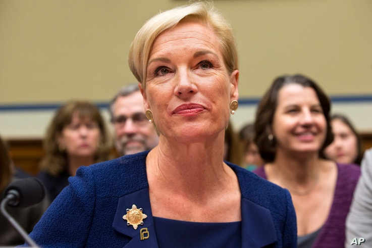 """FILE - Planned Parenthood Federation of America President Cecile Richards, shown testifying before Congress in September, says her organization changed its policy on accepting expense money for aborted fetal tissue """"to take away any basis for attacki..."""