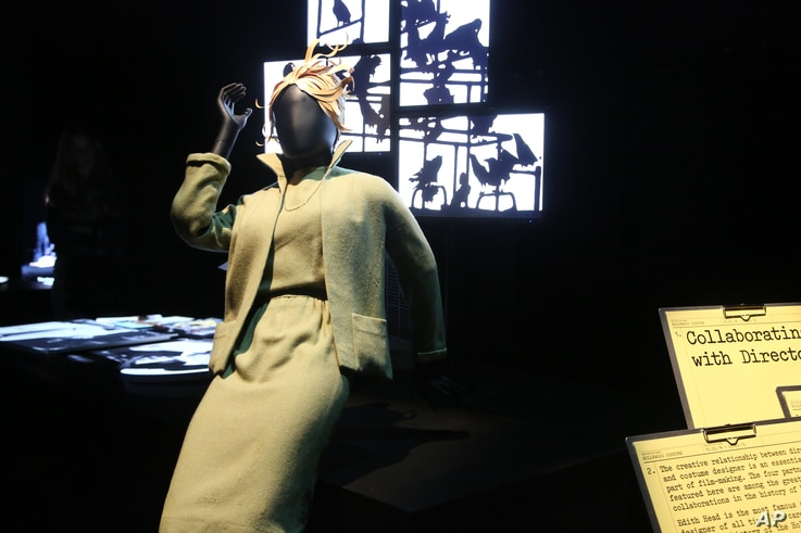 """Iconic costumes from the Golden Age of cinema to the present are on display at the press preview of the """"Hollywood Costume"""" exhibition, Sept. 29, 2014, in Los Angeles."""