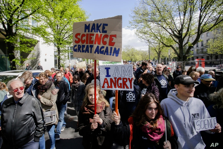 Germany Science March