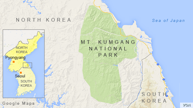 Mt. Kumgang National Park, North Korea