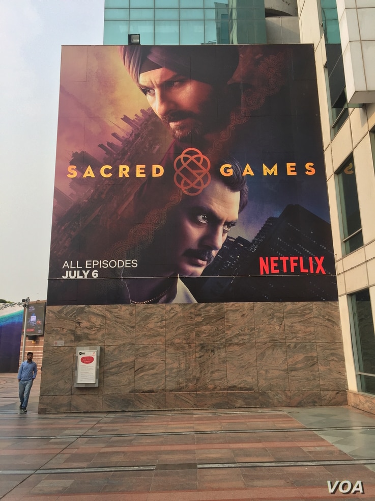 """""""Sacred Games,"""" a thriller about the Mumbai underworld, was released in a blaze of publicity by Netflix last month."""