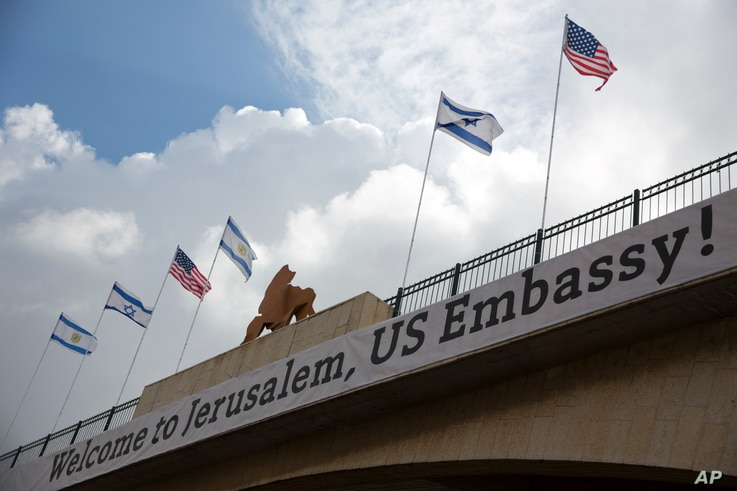 Mideast US Embassy To Jerusalem
