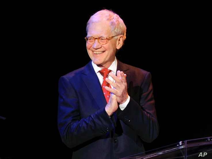 """FILE - David Letterman attends """"An Evening of SeriousFun Celebrating the Legacy of Paul Newman"""""""
