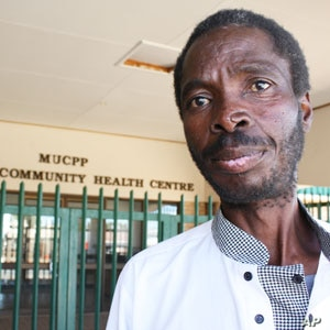 Lekgotla Nkopane, who struggled for months to get ARVs, and became very ill because he interrupted his treatment