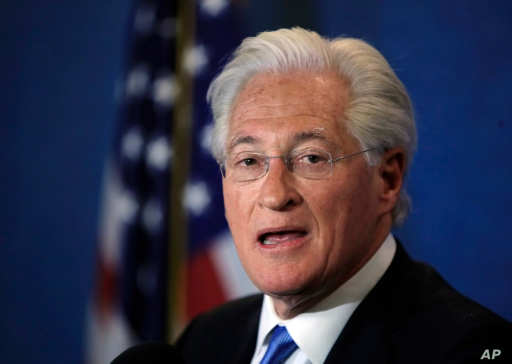 Marc Kasowitz personal attorney of President Donald Trump makes a statement at the National Press Club, following the congressional testimony of former FBI Director James Comey in Washington, June 8, 2017