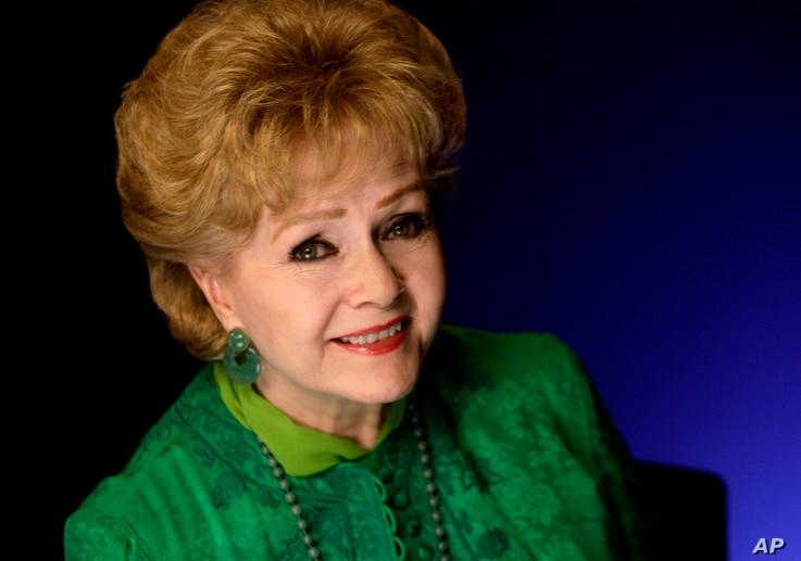 Actress Debbie Reynolds poses for a portrait in New York, Oct. 14, 2011.