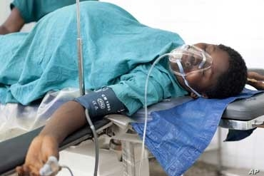 Many operating rooms in Sierra Leone lack access blood for emergency transfusions, and to medicines and equipment.