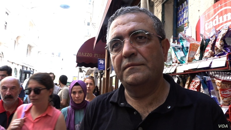 Sezgin Tanrikulu deputy leader of the main opposition CHP Party, joined the Saturday Mothers protest and condemned the police crackdown.