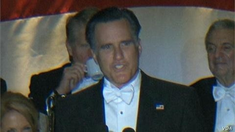 Obama, Romney at the New York's Catholic Archdiocese dinner