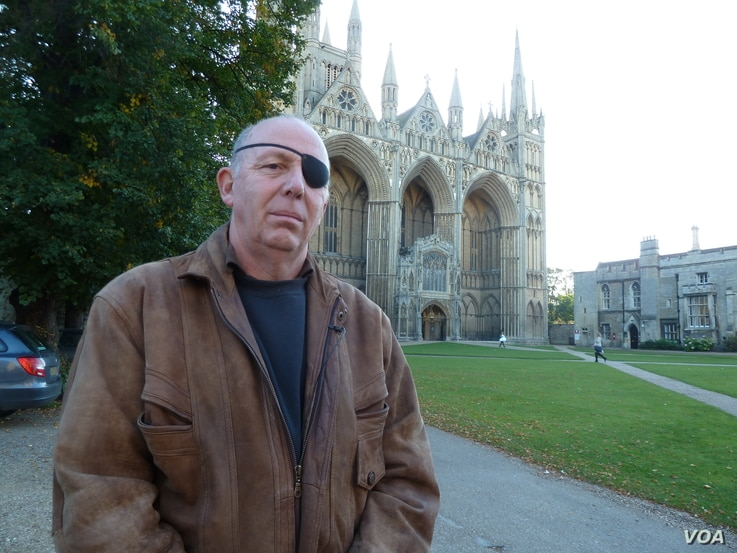 John Whitby, a UK Independence Party member of the Peterborough, England, city council, said on October 12, 2016, that voted to accept the refugees. He said his constituents' concerns focused on making a responsible, thoughtful decision. (L. Ramire...