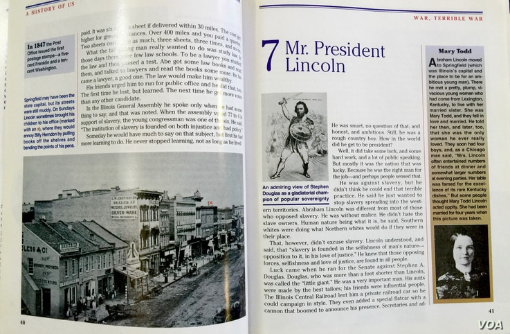 Chapter 7 of War, Terrible War follows Lincoln from a law office in Springfield to the White House