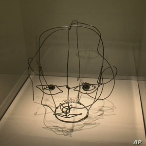 Shadows cast by the sculptures were important to artist Alexander Calder. He preferred to light them himself.
